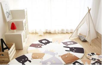 Детские ковры: для чего они нужны?