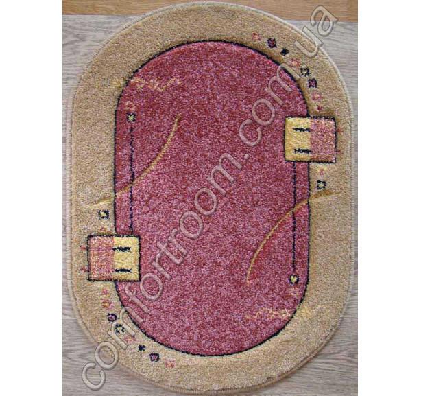 Ковер Frize 3127A-pink - Фото 1