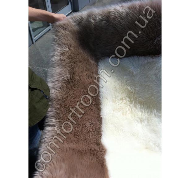 Ковер Овечьи шкуры Skin Ivory-brown - Фото 3