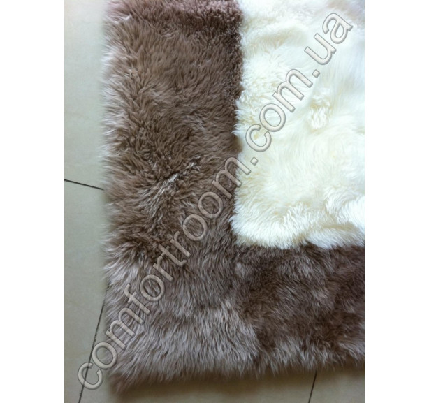 Ковер Овечьи шкуры Skin Ivory-brown - Фото 2